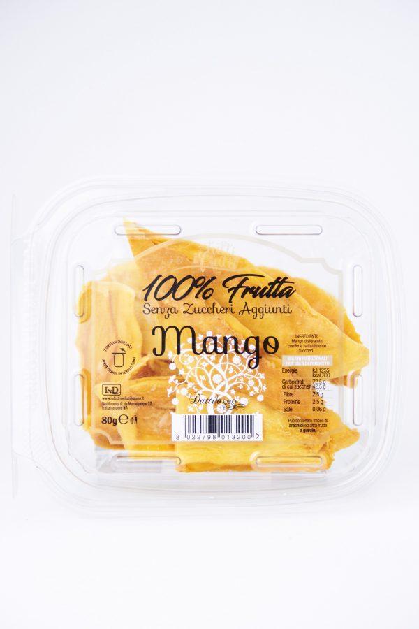 mango disidratato senza zucchero