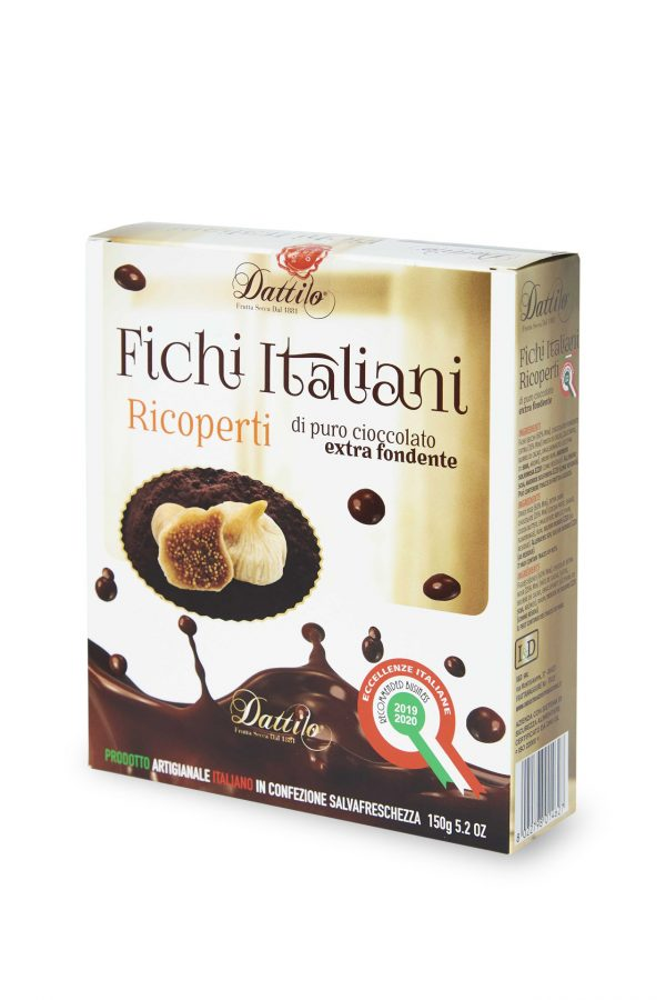 Fichi Italiani ricoperti al cioccolato