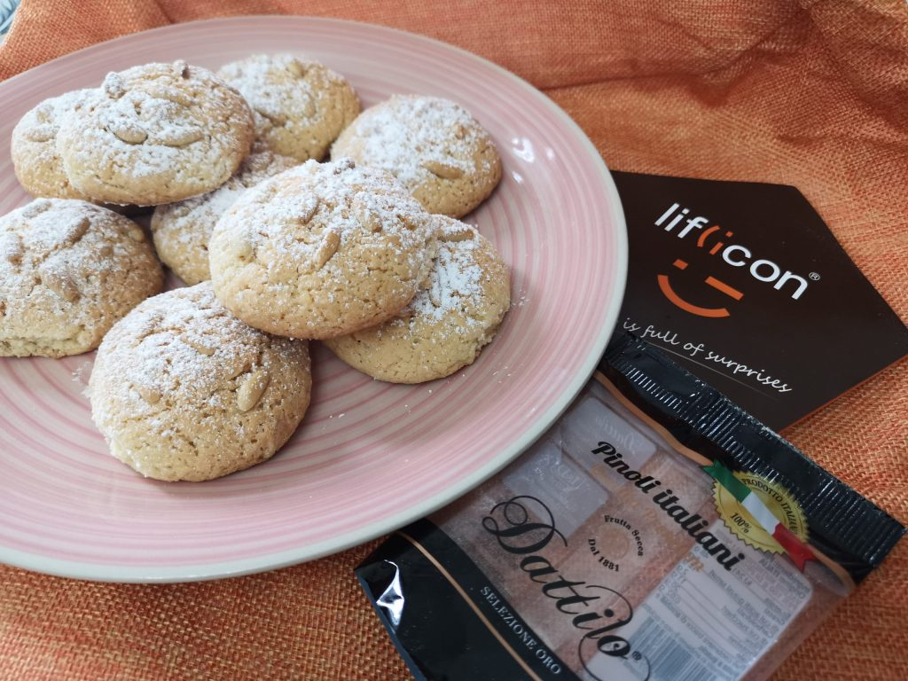 ricetta biscotti ai pinoli